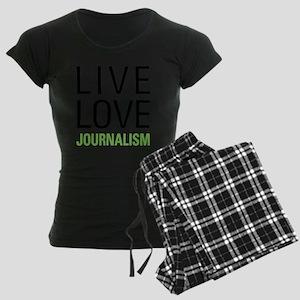 Live Love Journalism Pajamas
