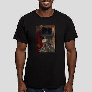 Baron Samedi Men's Fitted T-Shirt (dark)