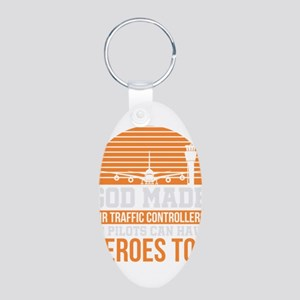 Funny Air Traffic Controller Hero Gift Keychains
