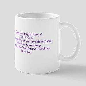 Good Morning from God Mugs