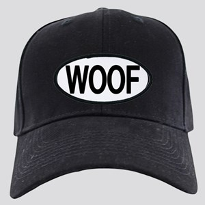 WOOF Oval Black Cap