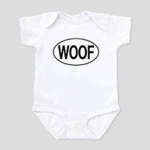 WOOF Oval Infant Bodysuit