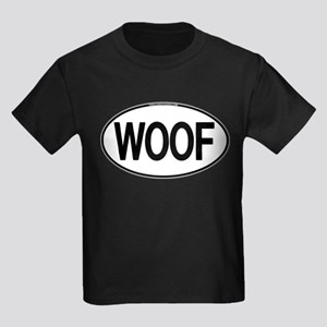 WOOF Oval Kids Dark T-Shirt