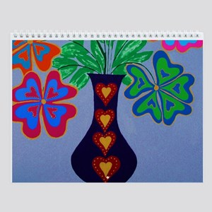 Blooming Hearts Hanukkah Wall Calendar