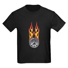 Fire peace T