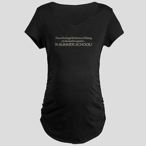 Summer School Maternity Dark T-Shirt