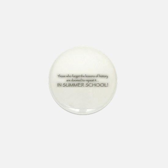 Summer School Mini Button