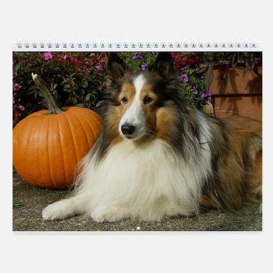 Pumpkin Girl Wall Calendar