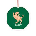 Mountain Lion Ornament (Round)