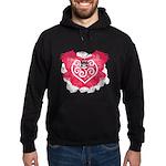 Painted Heart Hoodie (dark)