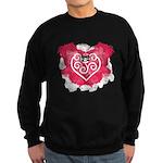 Painted Heart Sweatshirt (dark)