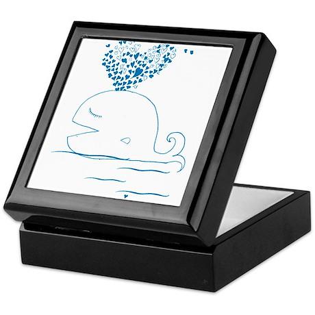 whale of love Keepsake Box