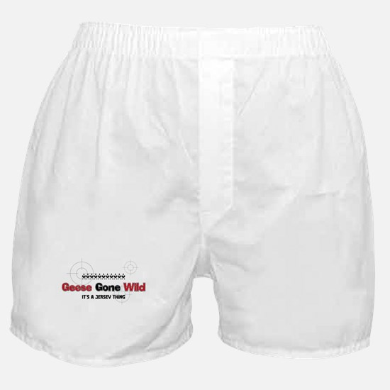Geese Gone Wild Boxer Shorts