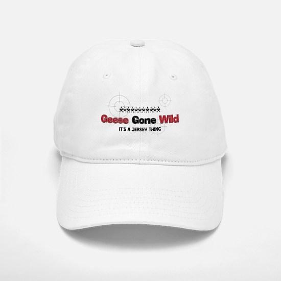Geese Gone Wild Baseball Baseball Cap