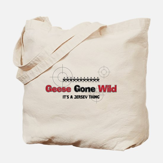 Geese Gone Wild Tote Bag