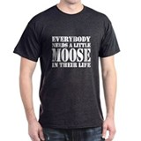 Moose Mens Classic Dark T-Shirts
