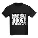 Get a Little Moose Kids Dark T-Shirt