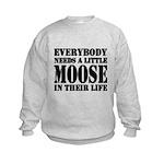 Get a Little Moose Kids Sweatshirt