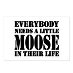 Get a Little Moose Postcards (Package of 8)