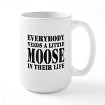 Get a Little Moose Large Mug