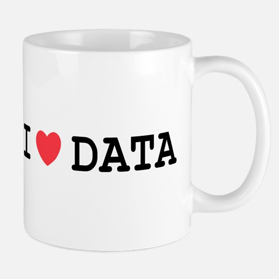 I Heart Data Mug