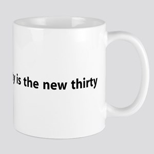 Fifty Is The New Thirty Mug