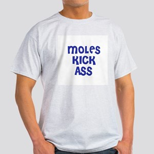 Moles Kick Ass Ash Grey T-Shirt