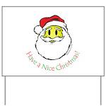 Santa Smiley (1) Yard Sign