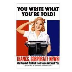 Corporate News Postcards (Package of 8)