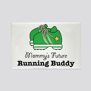 Mommy's Future Running Buddy Rectangle Magnet
