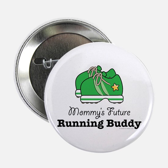 "Mommy's Future Running Buddy 2.25"" Button"