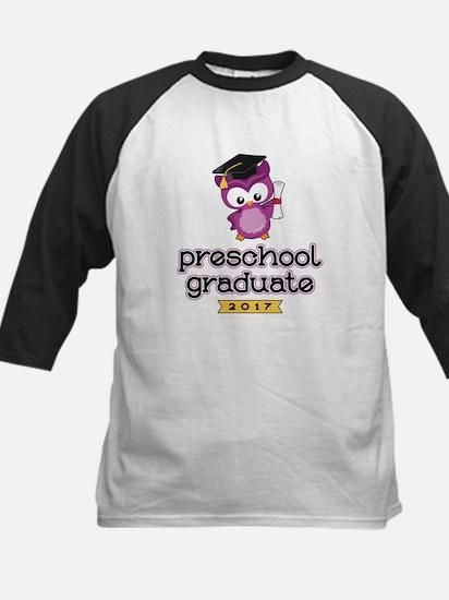 Preschool Grad 2017 Kids Baseball Jersey