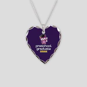 Preschool Grad 2017 Necklace Heart Charm
