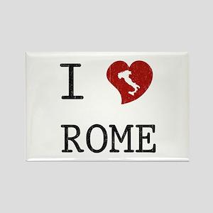 I Love Rome Rectangle Magnet