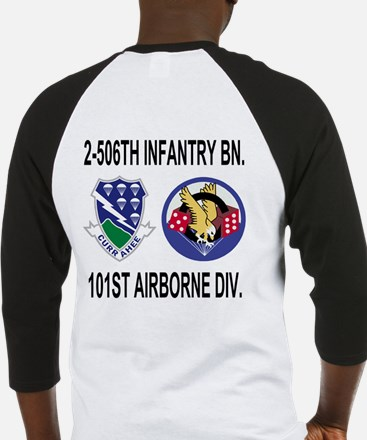 2-506th Infantry Battalion Raglan T-Shirt 2