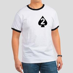 2-506th Infantry Battalion Ringer T-Shirt 2
