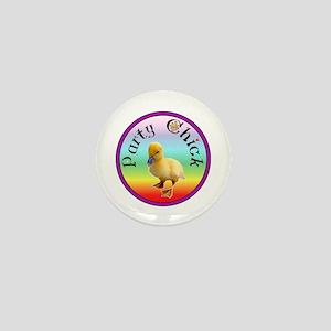 Party Chick Mini Button