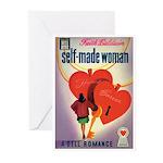 "Greeting (10)-""Self-Made Woman"""