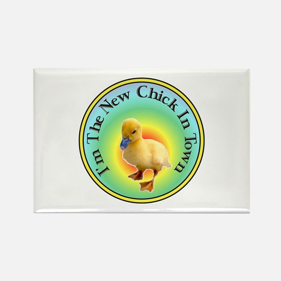 Funny Chick Rectangle Magnet