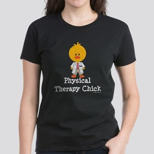 Physical Therapy Chick Women's Dark T-Shirt