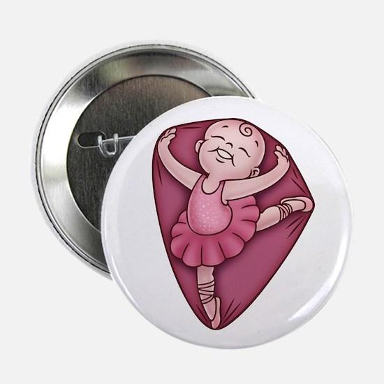 """Belly Dancer 2.25"""" Button"""