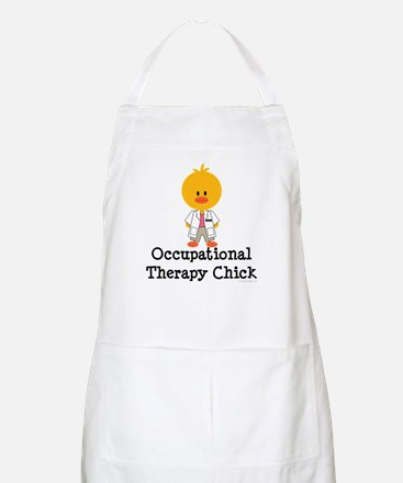 Occupational Therapy Chick BBQ Apron