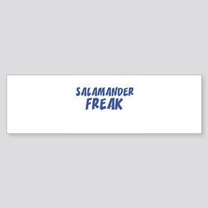 SALAMANDER FREAK Bumper Sticker