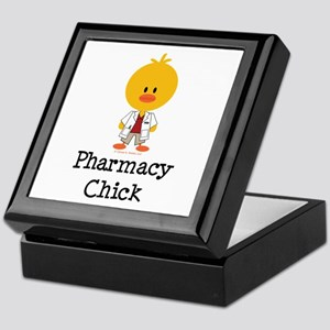 Pharmacy Chick Keepsake Box
