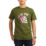 Eat the Rich Skull Organic Men's T-Shirt (dark)