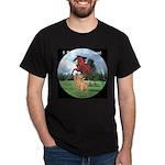 cougarmustangbttlecirclep2 T-Shirt