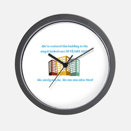 Cute Comedians Wall Clock