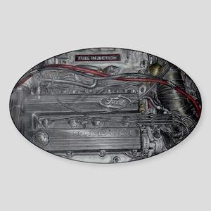 BP Engine Oval Sticker