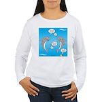 Shark Activities Women's Long Sleeve T-Shirt