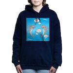 Shark Activities Women's Hooded Sweatshirt